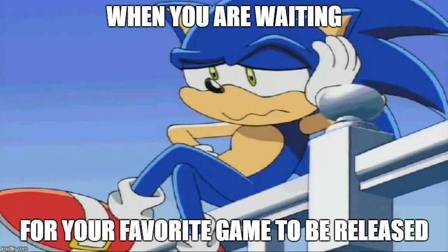 Impatient Sonic Sonic X Imgflip