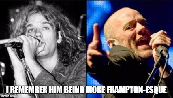 I REMEMBER HIM BEING MORE FRAMPTON-ESQUE | made w/ Imgflip meme maker