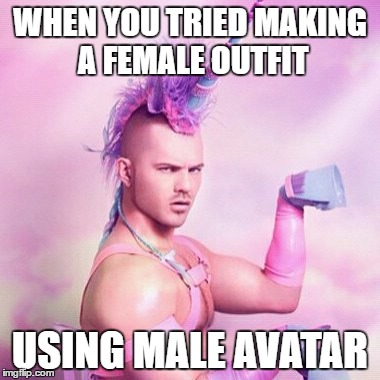 Unicorn MAN Meme , Imgflip