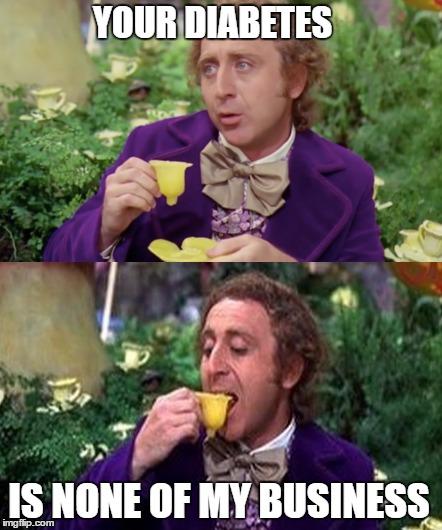 Not Wonka's Business - Imgflip Willy Wonka Meme Maker