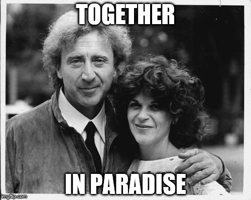 TOGETHER IN PARADISE | made w/ Imgflip meme maker