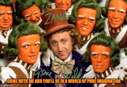 Willy Wonka - Pure Imagination Lyrics - SONGLYRICS.com