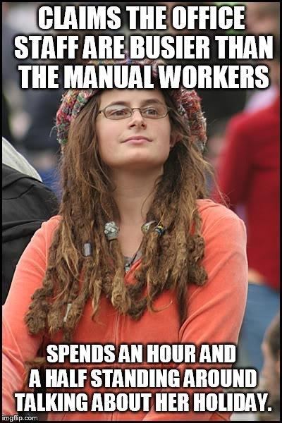 19slsc college liberal meme imgflip,Busier Than A Meme