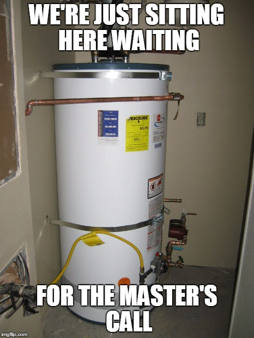 WE'RE JUST SITTING HERE WAITING FOR THE MASTER'S CALL | made w/ Imgflip meme maker