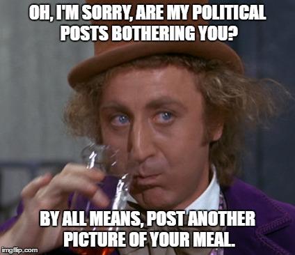 19u0ax political wonka imgflip,Political Posts Meme