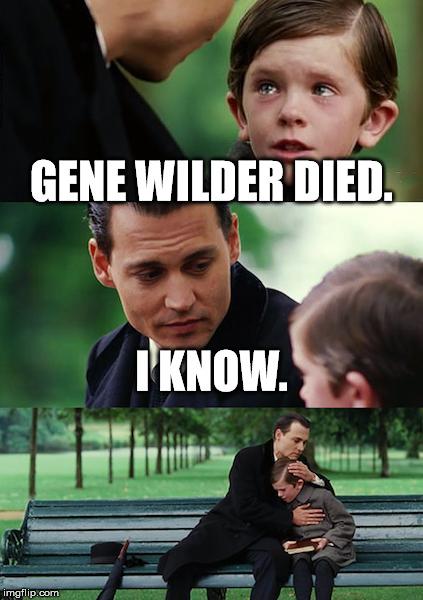 19u1r5 finding neverland meme imgflip,Gene Wilder Dead Meme