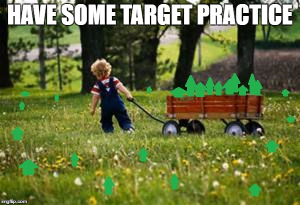 HAVE SOME TARGET PRACTICE | made w/ Imgflip meme maker
