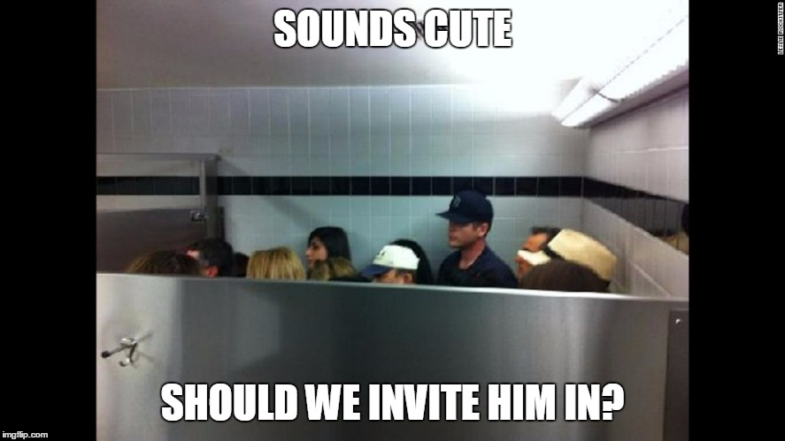 SOUNDS CUTE SHOULD WE INVITE HIM IN? | made w/ Imgflip meme maker