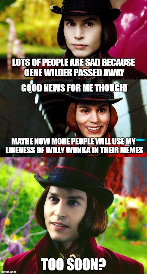 johnny depp - Imgflip Willy Wonka Meme Maker