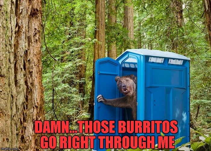 DAMN...THOSE BURRITOS GO RIGHT THROUGH ME | made w/ Imgflip meme maker