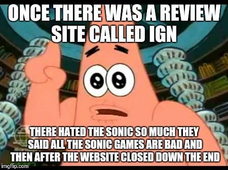 Patrick Says Meme - Imgflip