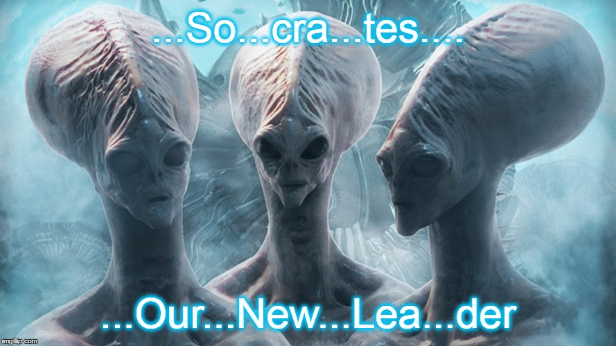 ...So...cra...tes.... ...Our...New...Lea...der | made w/ Imgflip meme maker