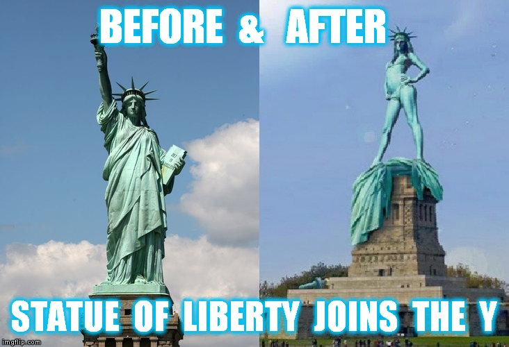 ... illegal immigration,statue of liberty,before and after,healthy,ymca
