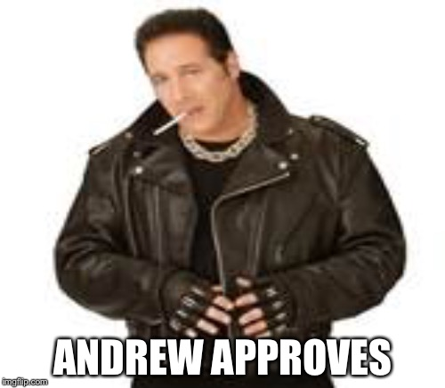 ANDREW APPROVES | made w/ Imgflip meme maker