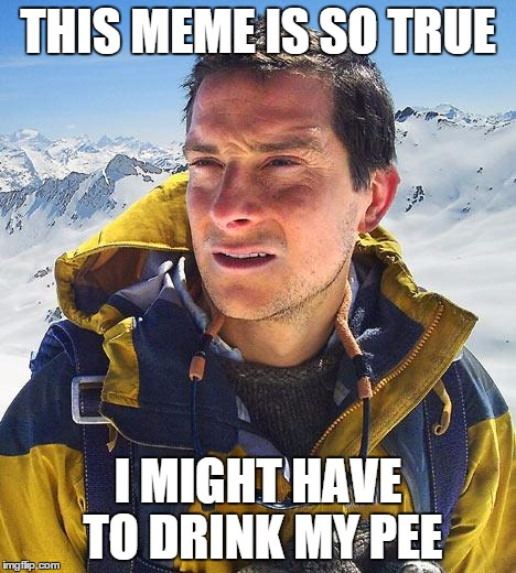 THIS MEME IS SO TRUE I MIGHT HAVE TO DRINK MY PEE | made w/ Imgflip meme maker