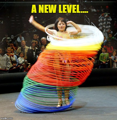 A NEW LEVEL.... | made w/ Imgflip meme maker