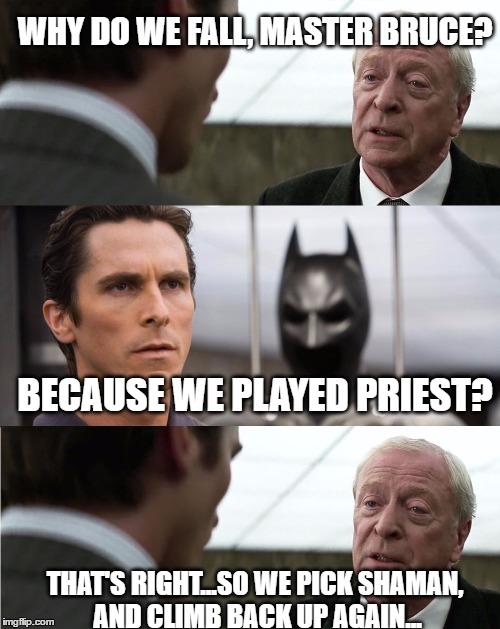 Why Do We Fall Master Bruce Imgflip