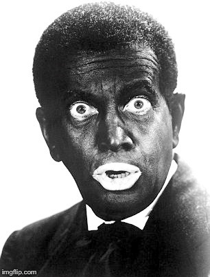 Al Jolson | L | image tagged in al jolson | made w/ Imgflip meme maker