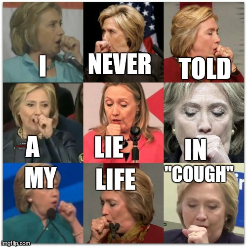 "I NEVER TOLD MY LIFE ""COUGH"" A LIE IN 