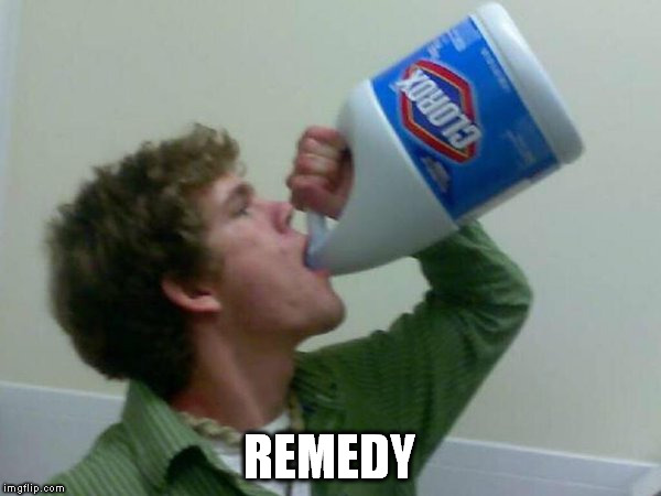 REMEDY | made w/ Imgflip meme maker