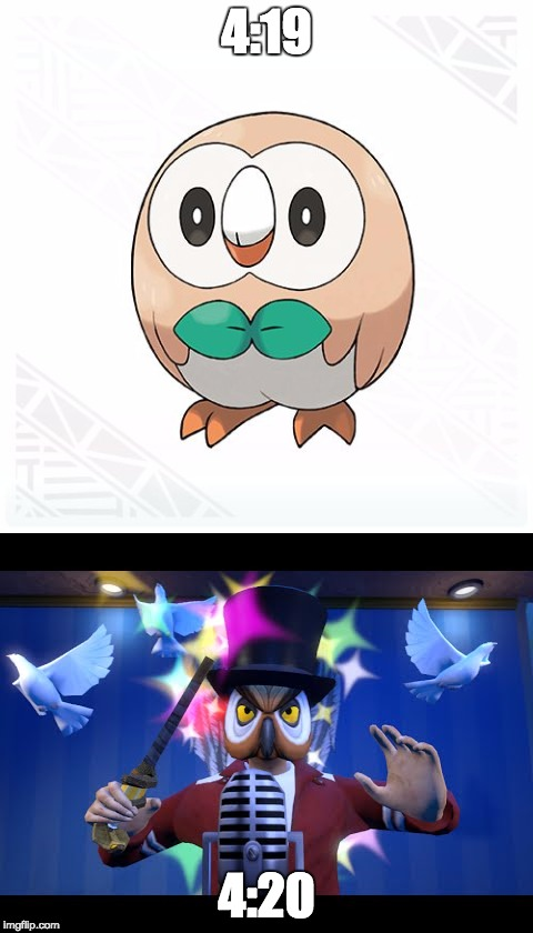 1a5slw image tagged in pokemon,dank memes,rowlet,420,hoodini imgflip