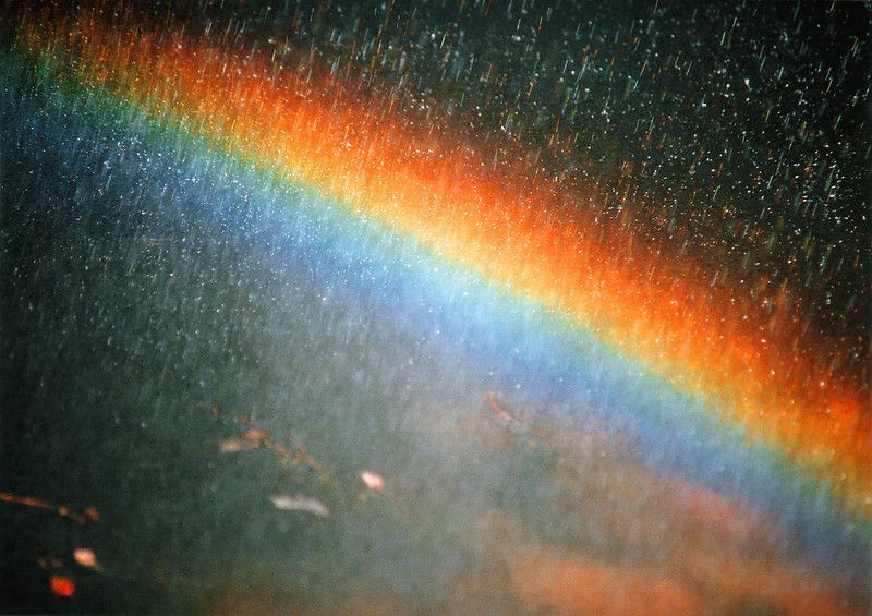 A Rainbow Follows the Rain | image tagged in rainbow,photography