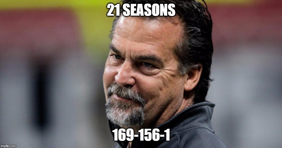 At least he's averagely good | 21 SEASONS 169-156-1 | image tagged in nfl memes | made w/ Imgflip meme maker