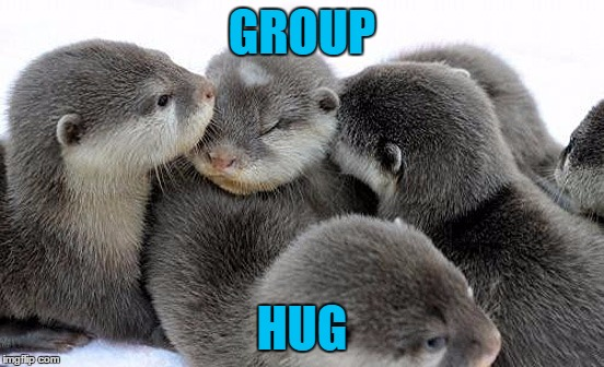 GROUP HUG | made w/ Imgflip meme maker