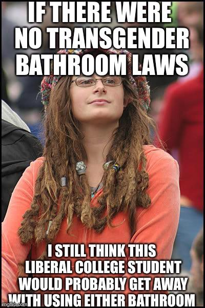 Liberal College Girl Imgflip