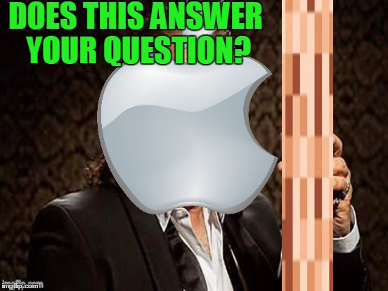 DOES THIS ANSWER YOUR QUESTION? | made w/ Imgflip meme maker