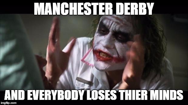 Image result for manchester derby memes