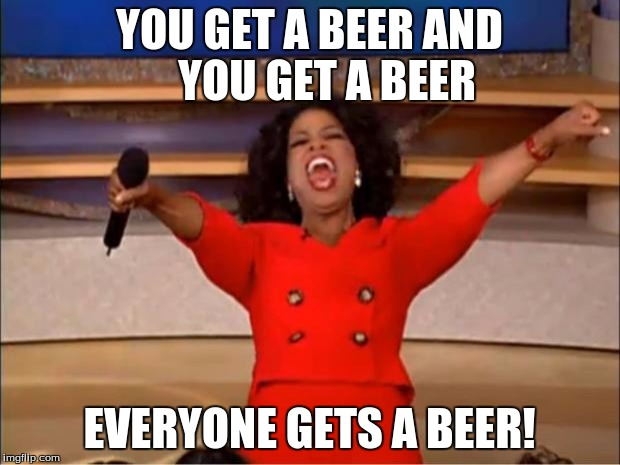 Image result for oprah beer