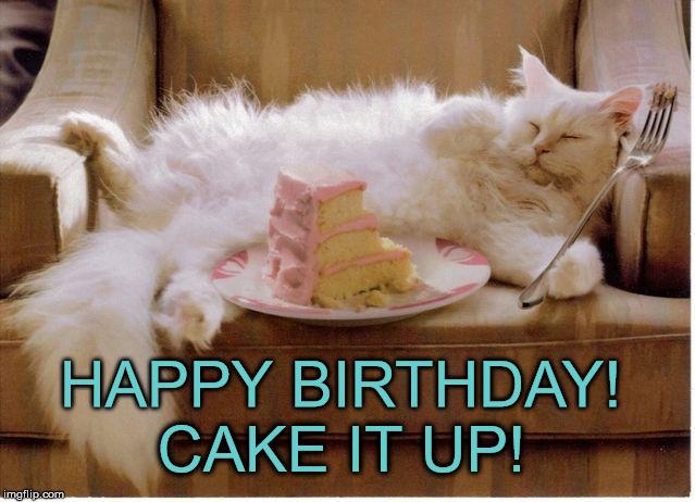 Happy Birthday Kelly Cat Cake