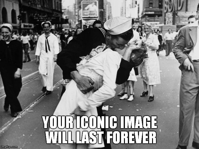 Rest in peace Greta |  YOUR ICONIC IMAGE WILL LAST FOREVER | image tagged in ww2,icon,greta,kiss,memes,rest in peace | made w/ Imgflip meme maker