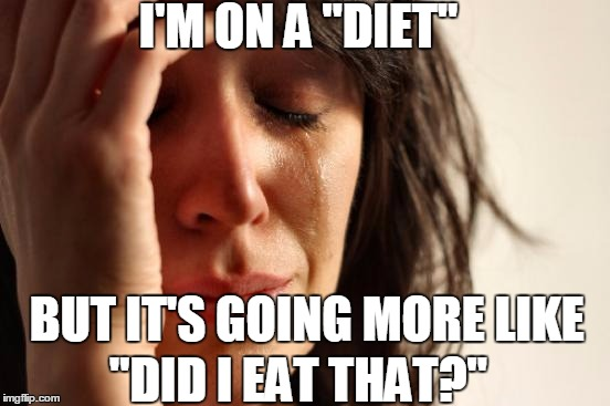 "It's Those Dang Double Stuffed Oreos  | I'M ON A ""DIET"" BUT IT'S GOING MORE LIKE ""DID I EAT THAT?"" 