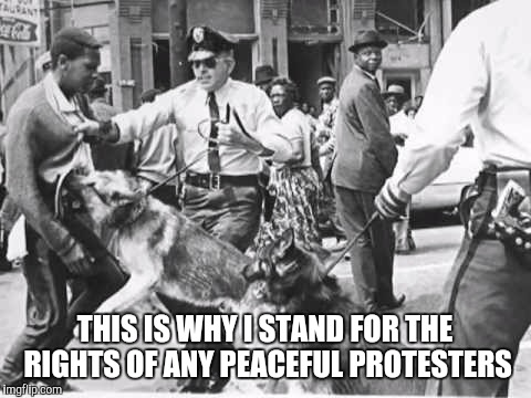 This is what happens when protest becomes marginalized  | THIS IS WHY I STAND FOR THE RIGHTS OF ANY PEACEFUL PROTESTERS | image tagged in true,unity,help your neighbor | made w/ Imgflip meme maker