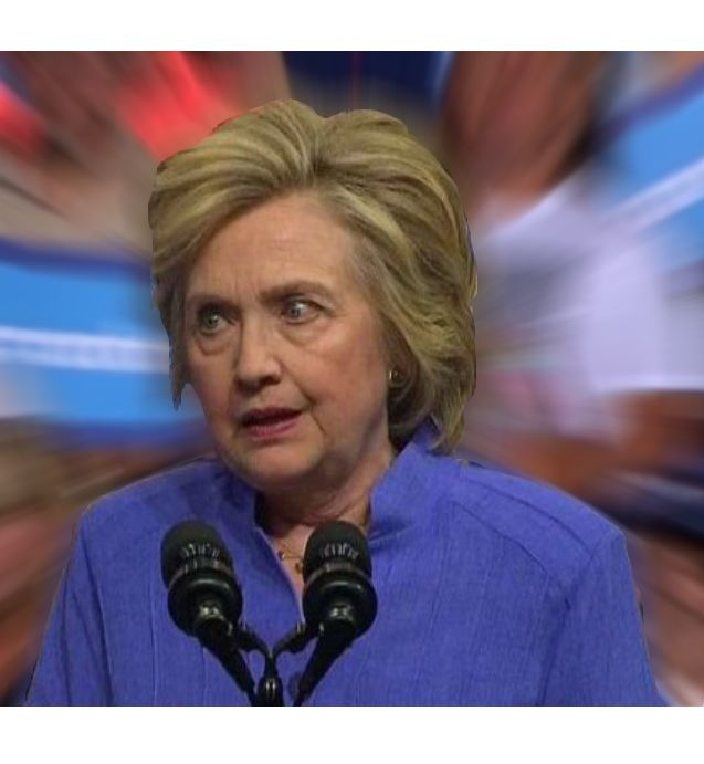 CFG Hillary That Feeling When Meme Template