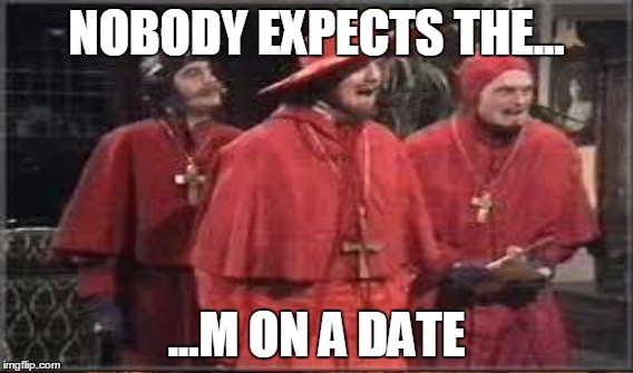 1aislu nobody expects the spanish inquisition monty python imgflip,Spanish Inquisition Meme
