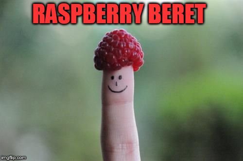 RASPBERRY BERET | made w/ Imgflip meme maker