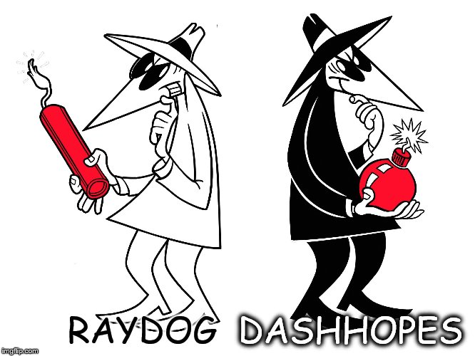 RAYDOG DASHHOPES | made w/ Imgflip meme maker