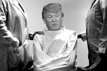 Trump Strait Jacket Blank Template - Imgflip