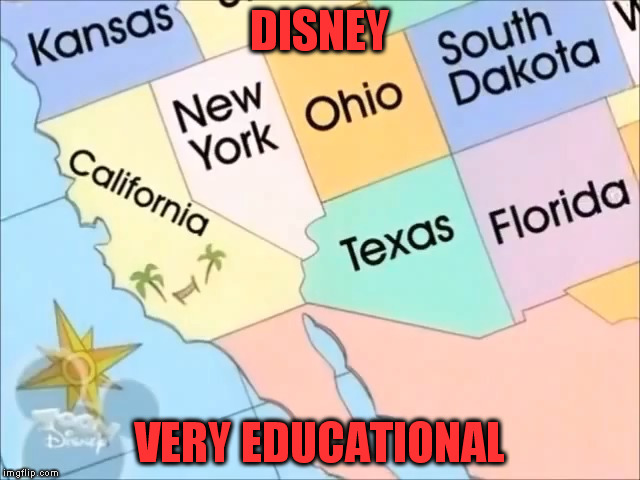 DISNEY VERY EDUCATIONAL | made w/ Imgflip meme maker