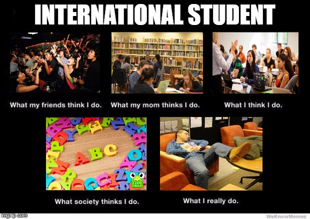 What people think I do |  INTERNATIONAL STUDENT | image tagged in what people think i do | made w/ Imgflip meme maker