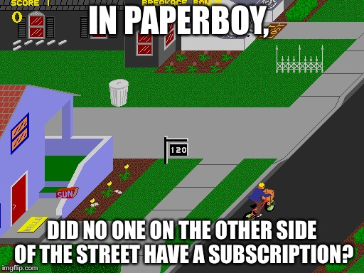Image result for paperboy game gifs