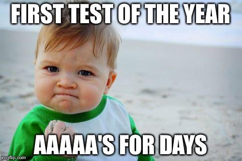 Image result for first test memes