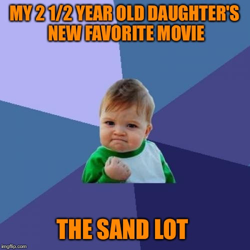 "The best part about watching ""The Sand Lot"", there is no singing.  