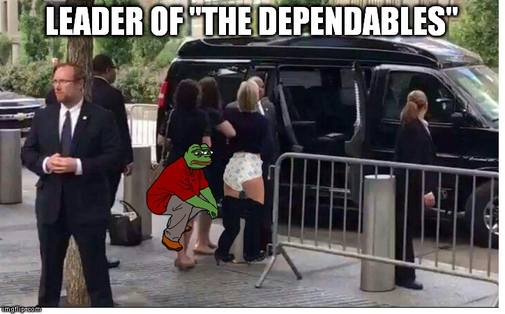 "LEADER OF ""THE DEPENDABLES"" 