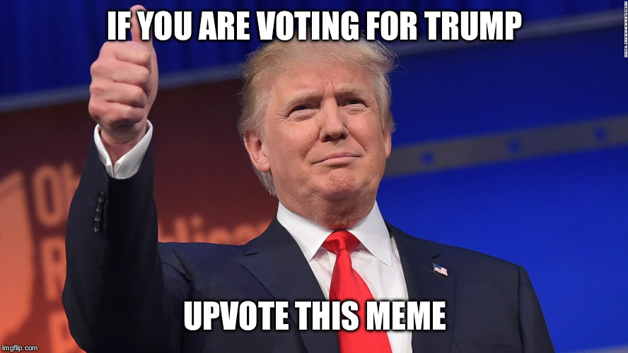 Imgflip poll #1 I made one for the Republicans, the Democrats, and the Independents. Let's see if we can predict this thing! | IF YOU ARE VOTING FOR TRUMP UPVOTE THIS MEME | image tagged in donald trump is proud | made w/ Imgflip meme maker