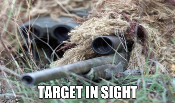 TARGET IN SIGHT | made w/ Imgflip meme maker