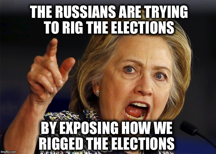 1awc2u white house and political intel community blame the russians,Russians Did It Meme